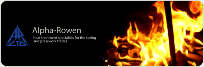 Alpha-Rowen Ltd: Heat treatment specialist for the spring and presswork trades